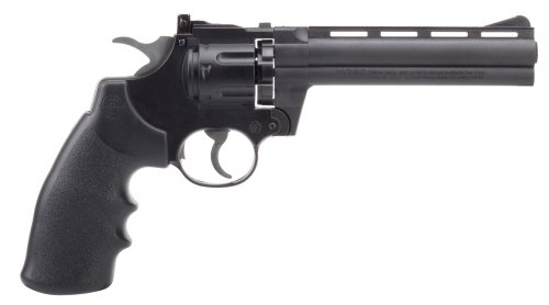 Crosman Vigilante Semi-Auto CO2 Powered Pellet Revolver with 6-Inch Barrel