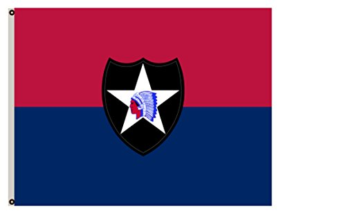 Cheap Fyon Uniformed Services Army Banner The 2nd Infantry Division Flag 6x10ft
