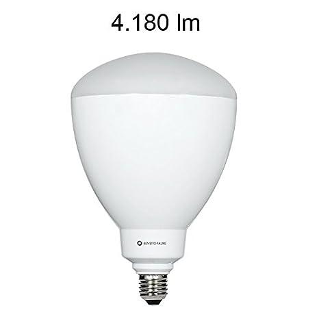 CUP 45W E27 220V 100º LED de Beneito Faure - Blanco cálido, E27, 45W: Amazon.es: Iluminación