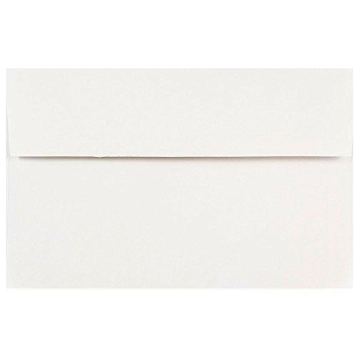 - JAM PAPER A10 Invitation Envelopes - 6 x 9 1/2 - White - 50/Pack
