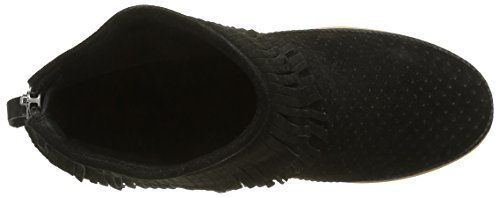 Black Emmy Mujer Shoe Bear Zapatillas Negro Fringes para The Altas O0zqF