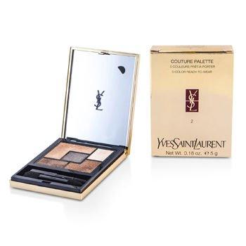 Yves Saint Laurent Couture Palette (5 Color Ready To Wear) #02 (Fauves) 5g/0.18oz (Laurent Saint Yves Pearl)