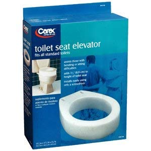 - TOILET SEAT ELEVATOR B307-00 REGULAR by APEX-CAREX HEALTHCARE ***