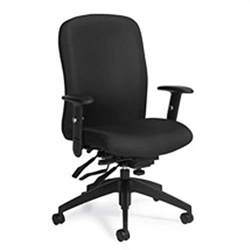 Global Heavy-Duty Truform Multi-Tilter Adjustable Chair, High-Back, 42