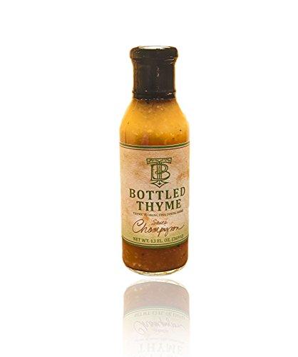 Bottled Thyme Sauce Champignon - Exotic Mushroom & Port Wine Gourmet Finishing Sauce