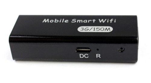 Bluesky New 3in1 Portable 3g/4g Wireless Wifi 150mbps Ap Hotspot Router (Black)