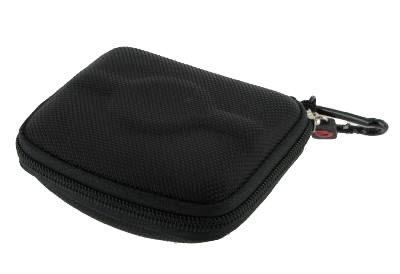 Hard Shell Nyon Carrying Case + Screen Protector for Garmin Nuvi 200 205 250 255 260 270 300 310 350 360 370 Vehicle GPS Navigator , NYLON BLACK, Best Gadgets