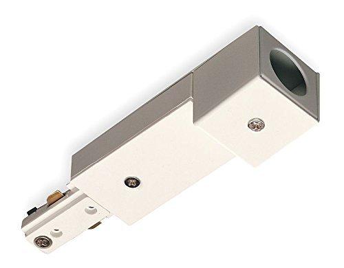 Halo L980P Power Trac Single Circuit Live End Conduit Adapter - White