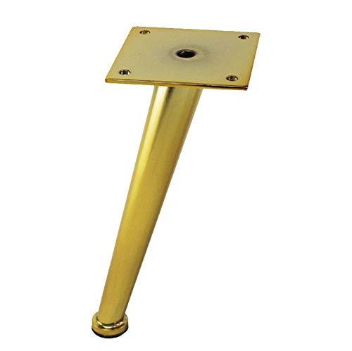 Patas de Oro Patas de sof/á Accesorios de Acero Industrial Genuino LXS Patas de Metal para Mesa Patas de Mesa y decoraci/ón de Muebles Kit de Bricolaje de Hardware Accesorios de Gama Alta