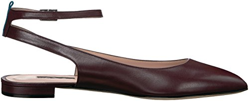 SJP by Sarah Jessica Parker Eesa, Ballerine Donna Rosso (Guarino Nappa Cool Wine)
