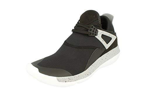 (Nike Air Jordan Fly 89 Mens Trainers 940267 Sneakers Shoes (UK 9.5 US 10.5 EU 44.5, Black University red Wolf Grey 004))