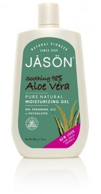 Jason Natural Cosmetics - Aloe Vera (Super Gel) 98%, gel de 16 oz de fl