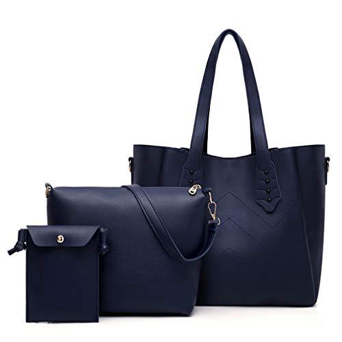 Handle Blue Deep da Nero donna Borse Top Designer GMjqLSUzVp