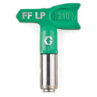 Graco FFLP210 Fine Finish Low Pressure RAC X Reversible Tip for Airless Paint Spray Guns
