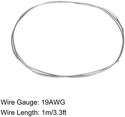 sourcing map 16 Gauge Resistance Wire Wrapping 3.3ft Nichrome Heating Resistor Wires