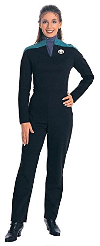 Deluxe Deep Space Nine Star Trek Uniform Costume Jumpsuit (Teal) - Womens Small