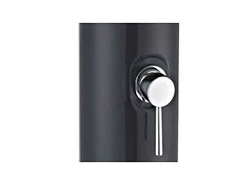PISCINE CENTER OCLAIR Douche Solaire Droite PVC Noir 40 l