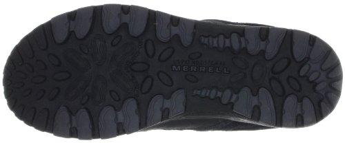 Merrell CHAM 4 MID TREK WTPF KIDS J95407 - Zapatillas de senderismo de cuero para niño Negro