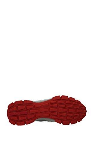 Sneakers Prada Uomo - Pelle Gommata (4e3147) Grigio Eu
