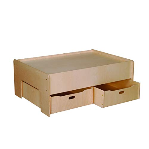 Little Colorado Play Table and Storage Drawers, ()