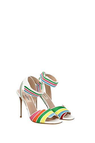 2s0f26cdz Donna Multicolor Eu Camoscio Valentino Sandali Garavani cpqnBB16
