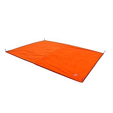 Oxford Fabric 4-5 People Footprint/Ground Sheet (9'10'' x 7'3''), Tent Mat /Canopy, Shade Rain, for Hiking, Camping, Picnic or Fishing
