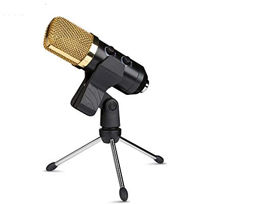 USB Microphone,Fifine Metal Condenser Recording Microphone for