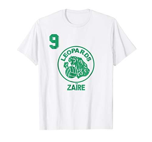 (Retro Zaire Soccer Jersey 1974 Football T-Shirt Africa Away)