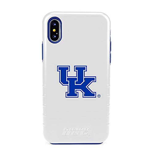 (Guard Dog Kentucky Wildcats Hybrid Case for iPhone X/Xs - White)