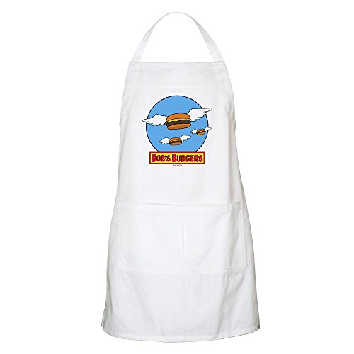 CafePress Bob's Burgers Flying Burgers Apron Kitchen Apron with Pockets, Grilling Apron, Baking Apron ()