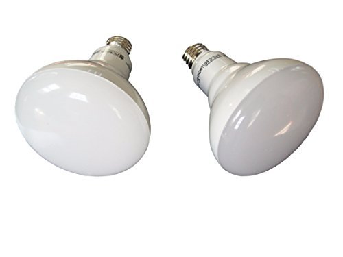 Utilitech 2-Pack LED Br30 65W(9W) Indoor Recessed Flood Light Daylight Bulbs Non-Dimmable (Daylight Floodlight)