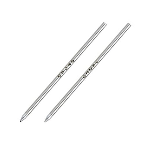Cross Tech3 Ballpoint Pen Refills - 2 Refills Per Box Red Medium
