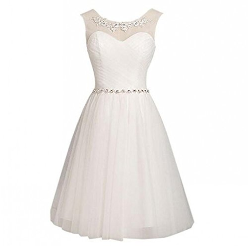 Angel Formal Dresses Women's Scoop V Back Rhinestone Sash...