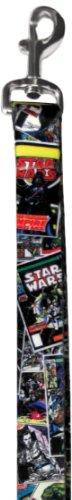 Platinum Pets Star Wars 1-Inch by 6-Feet Nylon Leash, Comics Design