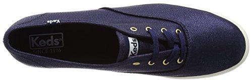 Sneaker Blu Navy Metallico Metallizzato