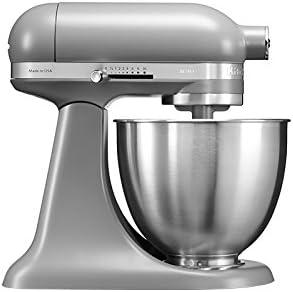 KitchenAid Mini - Robot de cocina (3,3 L, Gris, palanca, 200 RPM, 1,219 m, CC): Amazon.es: Hogar