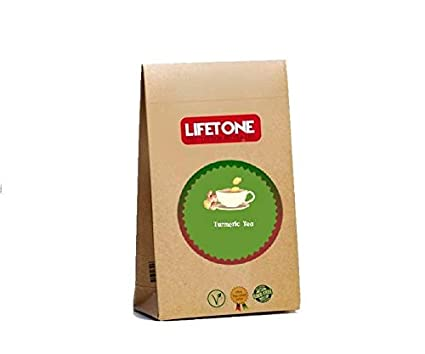 LIFETONE Turmeric Tea,Turmeric blend with Cinnamon,Ginger