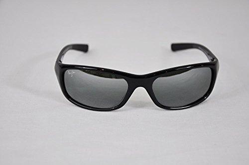 Maui Jim Sunglasses - Kipahulu / Frame: Gloss Black Lens: Neutral Grey