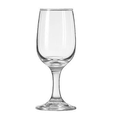 Libbey Glassware 3766 Embassy Wine Glass, 6 oz.-12 oz. (Pack of 36) by Libbey