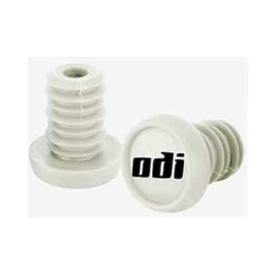 Odi Bar End Plugs For Scooters and BMX Bikes 1 Pair (WHITE) : Sports Scooter Parts : Sports & Outdoors