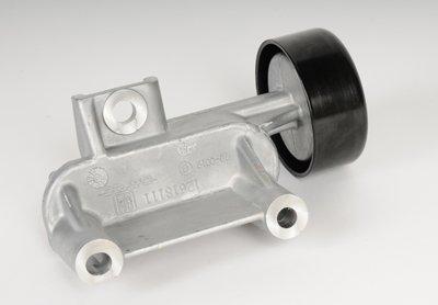 - ACDelco 12618111 GM Original Equipment Drive Belt Idler Pulley with Bracket