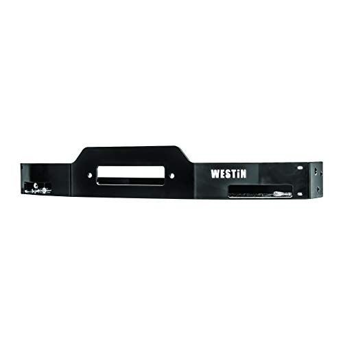 Westin Automotive Products 46-23875 Black Winch Tray (2018 Silverado Bumper Winch Mount)