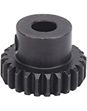 Durable Modulus 0.8 Pinion Gear, Pinion Gear Quality Steel Material S4304-0006-0024 6mm Hole Pinion Gear Cast Steel for Industrial Robot Parts