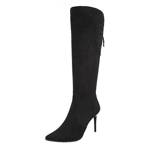 Ital-Design Women's Classic Boot Black x1dp5J