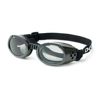 Doggles – ILS Metallic Black Frame with Smoke Lens