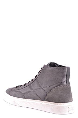 Hogan Men's MCBI148523O Grey Suede Hi Top Sneakers authentic online with credit card online 2014 newest sale online cheap visit vZgn63V0T