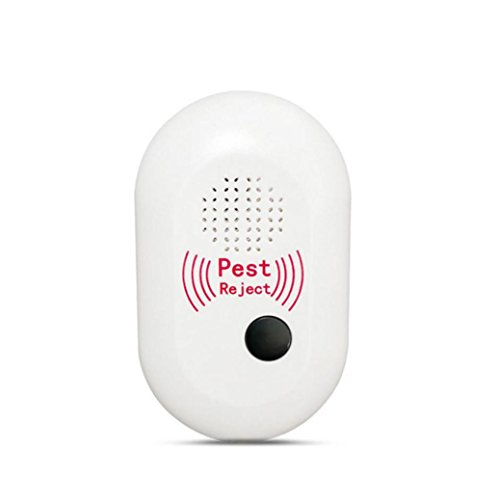 Electronic Pest Control Stheanoo Ultrasonic Pest Reject for Insect, Mosquitoes, Mouse, Spiders, Fleas Non-Chemical Home and Garden Pest Control by Stheanoo Zapper (Image #1)