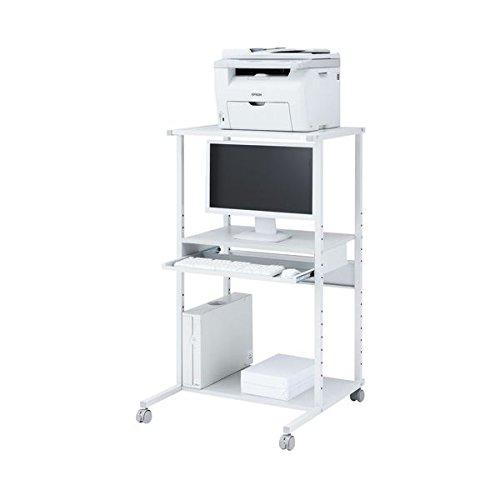 サンワサプライ パソコンラック RAC-EC71 ライトグレー AV デジモノ パソコン 周辺機器 スタンド 棚 ラック 14067381 [並行輸入品] B07P2M9Y5C