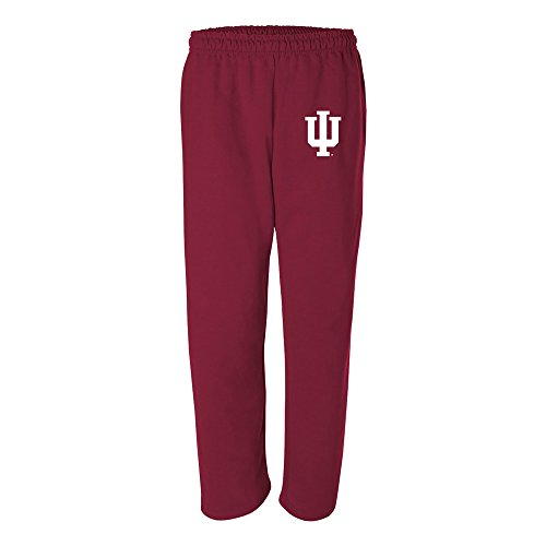 AB02 - Indiana Hoosiers Primary Logo Sweatpants - Medium - Cardinal