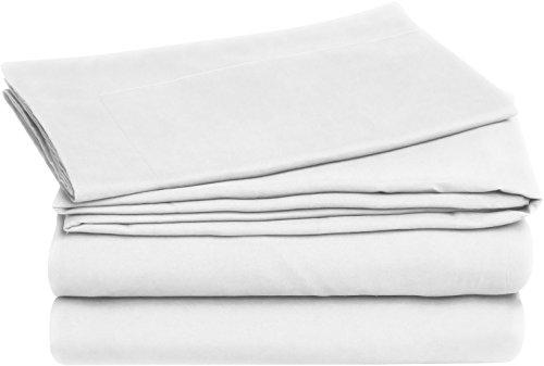 Utopia Bedding Premium Cotton 3 Piece Duvet Cover Set (Queen, White) – Includes 1 Duvet Cover and 2 Pillow Shams